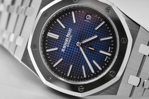有回收手表,深圳爱彼皇家橡树系列Jumbo巨薄手表回收店