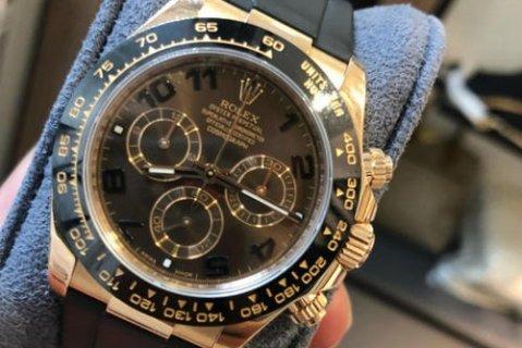 二手10万左右劳力士手表可以在深圳回收多少钱?