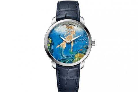 雅典手表回收公司价格多少?鎏金系列3203-136LE-2/MANARA.06腕表
